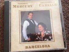 Rare Freddie Mercury Montserrat Caballe CD Barcelona 1988 - Queen