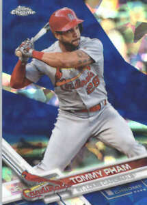 TOMMY-PHAM-2017-TOPPS-CHROME-SAPPHIRE-EDITION-158-ONLY-250-MADE