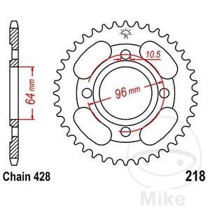 For-Honda-CG-125-ES-2007-2008-JT-Black-Steel-Rear-Sprocket-44-Teeth
