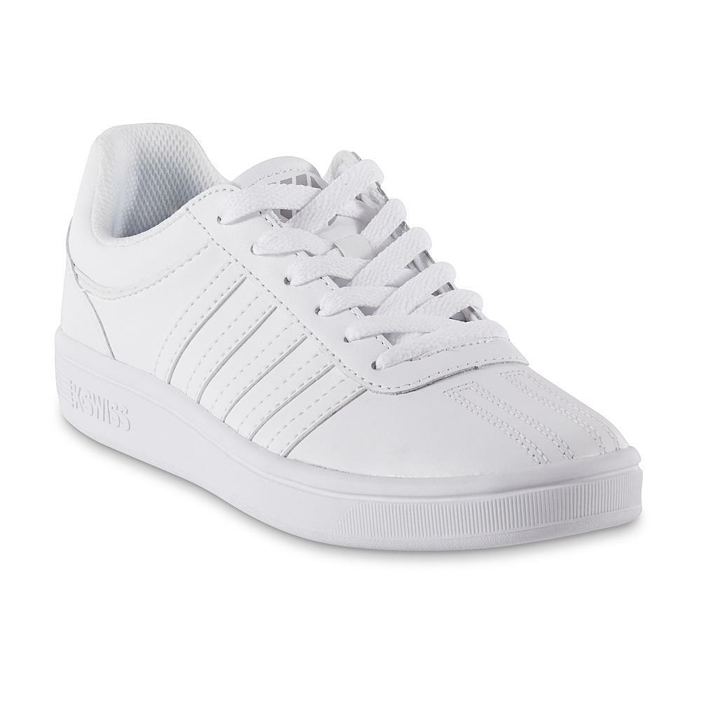c2c55e5d09a20 K-Swiss Mens Court Chesterfield Low Medium Tennis shoes 05782-142 White Size  9.5