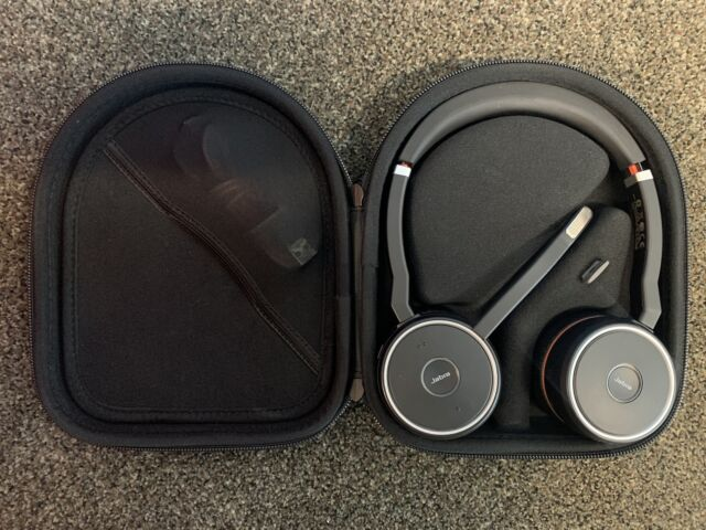 Jabra Evolve 75 Bluetooth Headset Hsc040w With Case For Sale Online Ebay