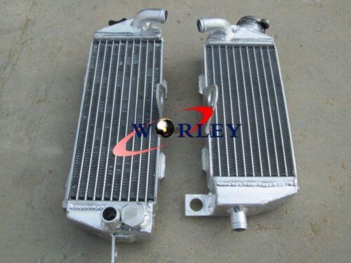 L/&R Aluminum Radiator For Kawasaki KDX200 KDX220 KDX 200 KDX 220 1997-2006