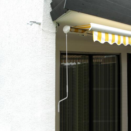Markisenkurbel Kurbel 150cm weiß Handkurbel für Markisen