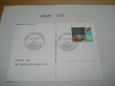 #amk1100 Beleg Brief Postkarte Ganzstück Europa Schweiz Kehrstetten Am Bürgensto Spezieller Sommer Sale
