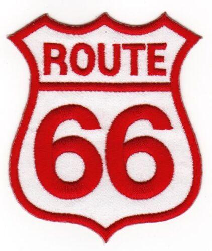 Au81 Route 66 Biker EE Patch perchas imagen Patch aplicación sotana DIY parchear UU