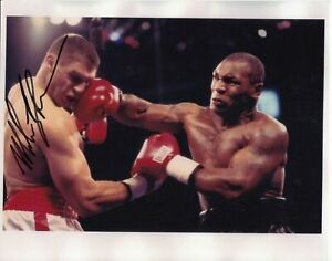 """Mike Tyson Signed Boxing Photograph with COA - 10""""x8"""""""
