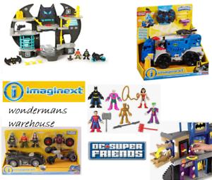 Imaginext Dc Super Friends Batman / batcave / chiffres & plus - Tout neuf