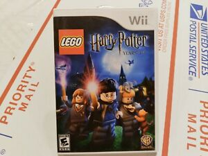 🔥 LEGO Harry Potter: Years 1-4 🎮 games! Nintendo Wii Tested! 👍 Free Shipping