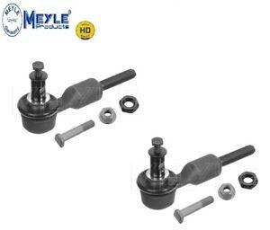 x2-MEYLE-HD-Audi-A4-A6-A8-Outer-Track-Rod-End
