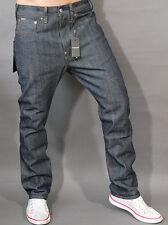 G-Star Jeans us lumber 25 straight rigid RAW w32 l32 Streaky red inscripción Cotton