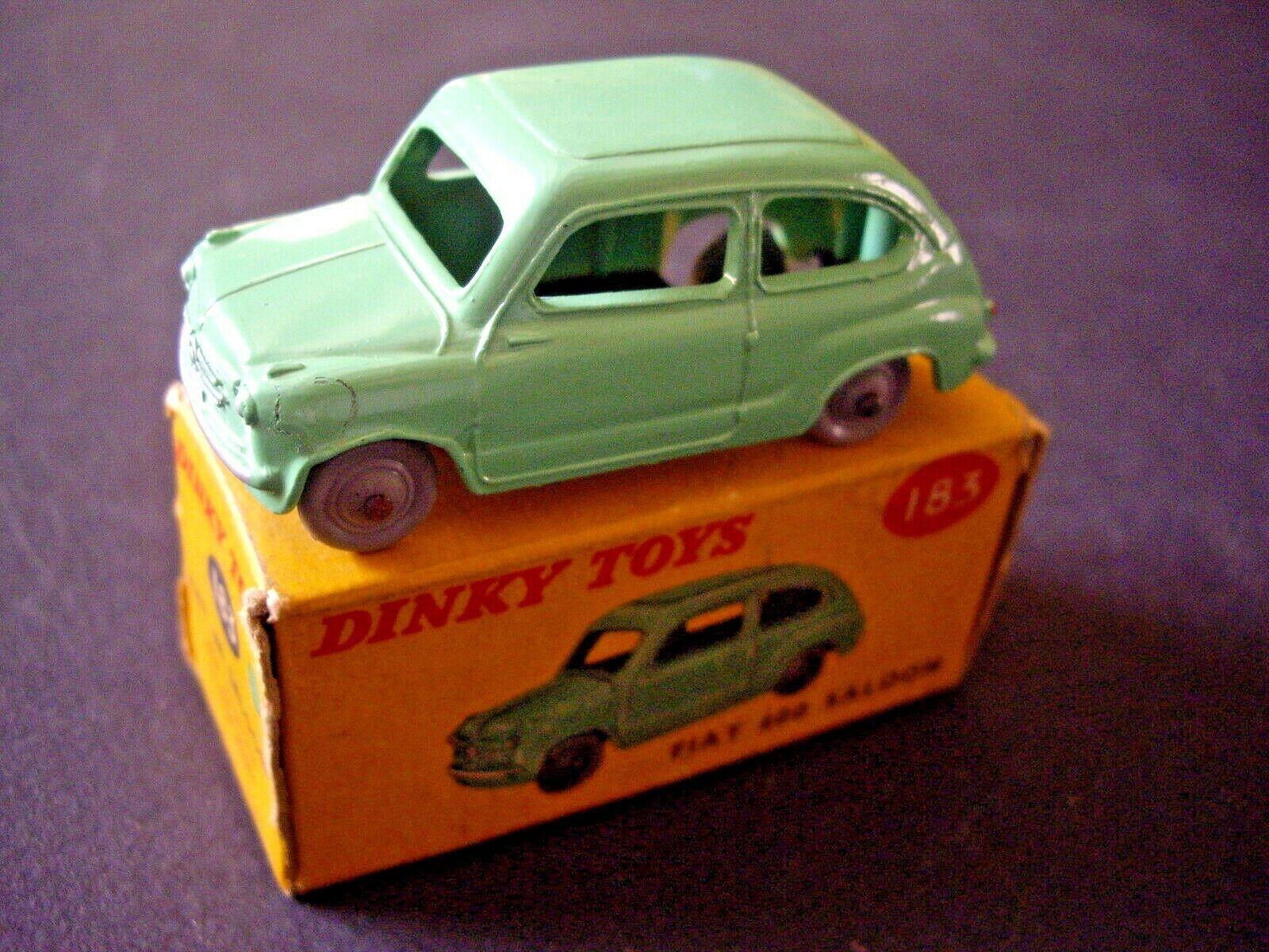 Venta barata DINKY TOYS 183 FIAT 600 SALOON + BOITE BOITE BOITE D'ORIGINE  Entrega directa y rápida de fábrica