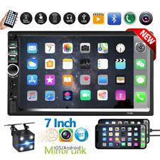 2 Din 7 Touch Screen Fm Radio Audio Stereo Car Video Player Bluetoothhd Camera Fits Mitsubishi Diamante