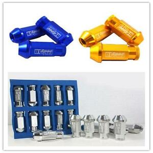 20x-M12x1-25-1-5MM-Open-End-Extended-Long-Rim-Tuner-Car-Wheel-Racing-Lug-Nuts-Z1