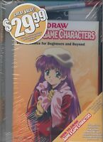 How To Draw Anime & Game Characters Illustration Kit Hc