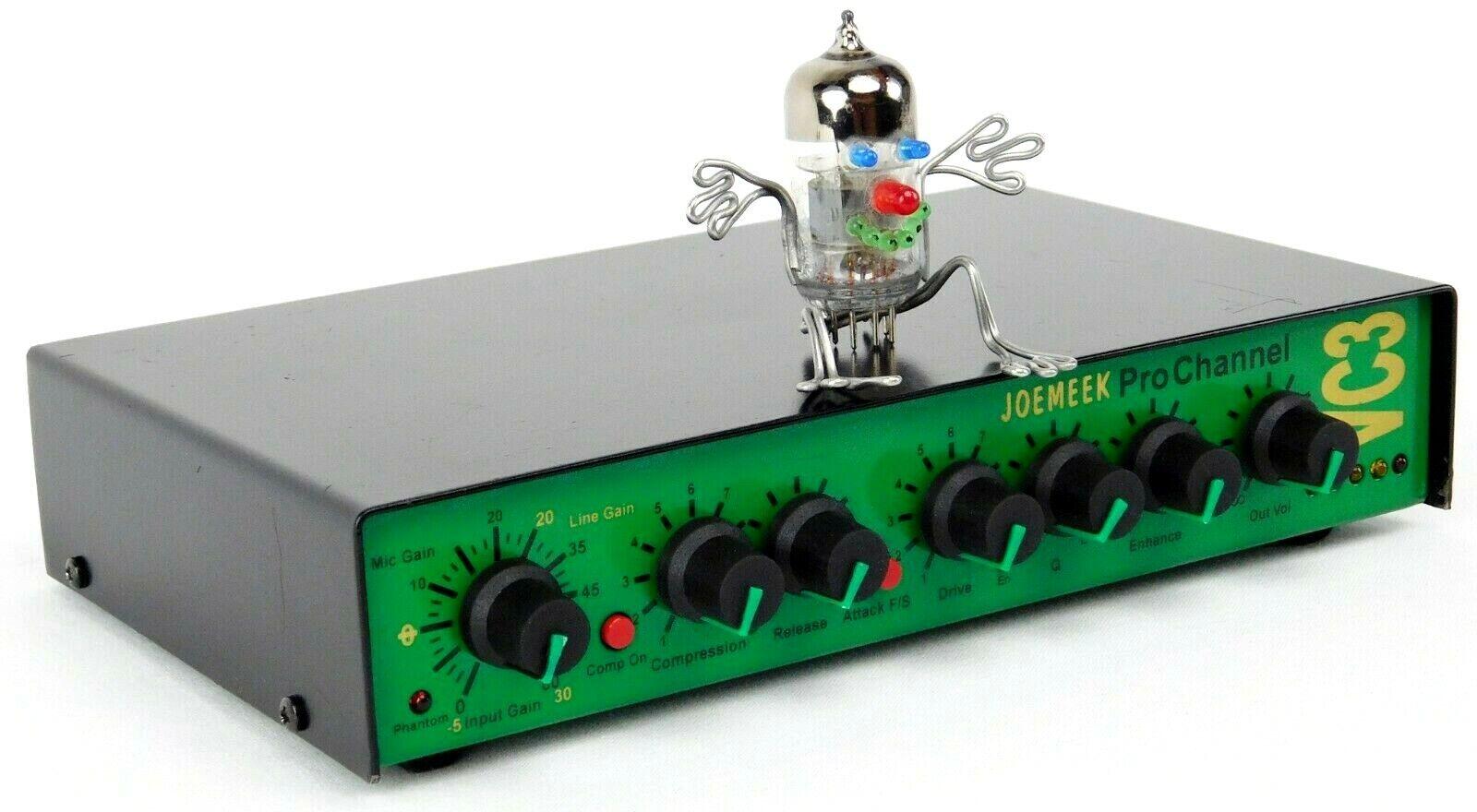 JoeMeek VC3 Gold Pro Channel Mic Preamp Enhancer TFPRO Guter Zustand Garantie