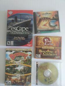 Pc-Games-Lot-Of-5-Win-Mac-Cd-rom