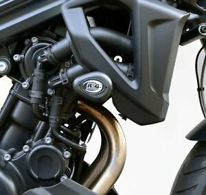 Pair-of-R-amp-G-White-Aero-Crash-Protectors-for-BMW-F800-R-2017