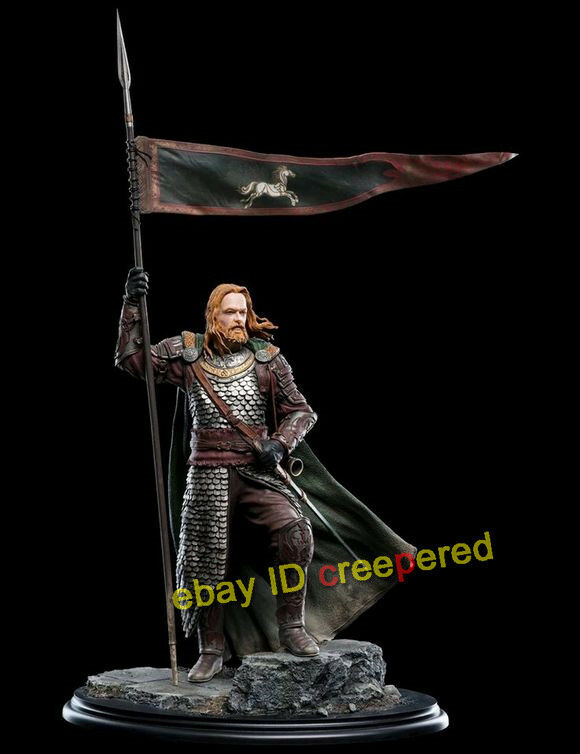 Weta Household Guards Division of Rohan Gamling Battle of the Helm's Deep Statue