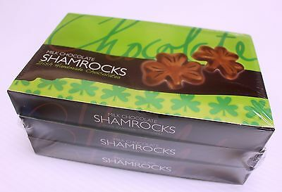 Chocolate Shamrocks 3 Boxes x 125g Made in Ireland
