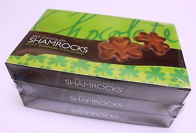Chocolate Shamrocks 3 Boxes x 125g Made in Ireland