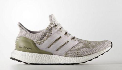 Adidas ultra impulso 3,0 taglia 9.pearl grigio carico.lmtd / bianco.ba8847.olive tracce di carico.lmtd grigio 3f7984