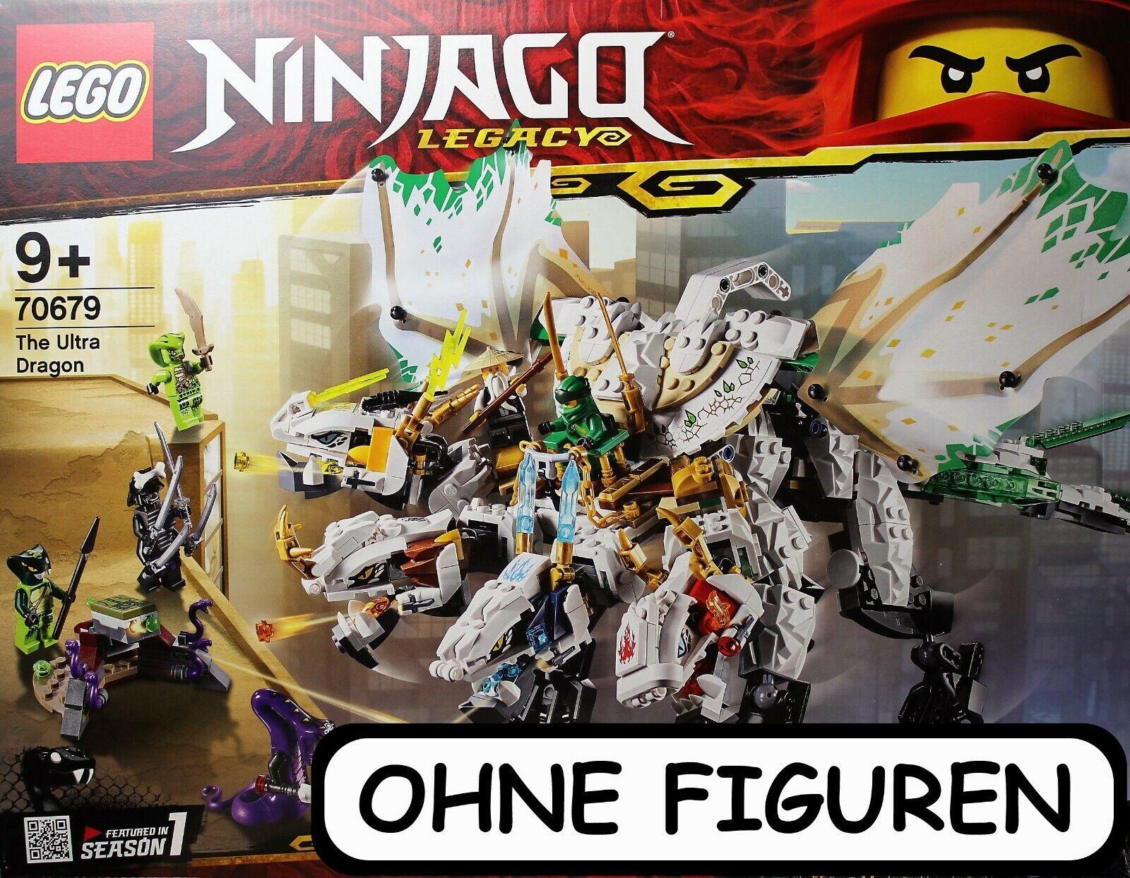 LEGO ® NINJAGO   DER ULTRADRACHE   SET 70679   OHNE FIGUREN   NEUWERTIG