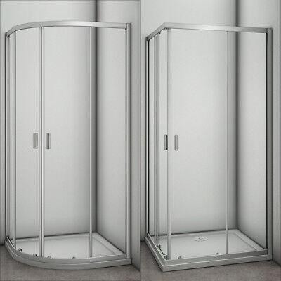 1200x800mm Pivot Door Frameless Corner Entry Shower Enclosure /& Tray Free Waste