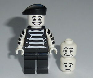 COLLECTIBLE-MINIFIGURE-Lego-Series-2-034-MIME-034-NEW-Genuine-Lego-8684