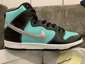 ff9aab4600d7 NEW  Nike Dunk SB High Diamond Supply Co. Tiffany High Low - Size ...