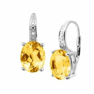 4-ct-Natural-Citrine-Earrings-with-Diamonds-in-Sterling-Silver