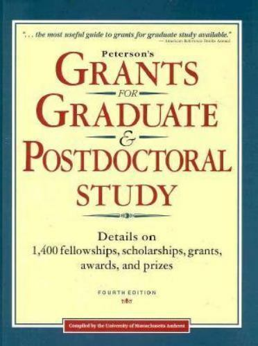 Peterson's Grants for Graduate & Postdoctoral Study (GRANTS FOR GRADUATE AND POS