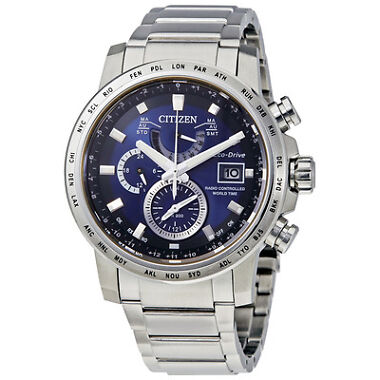 Citizen World Time A-T Perpetual Mens Watch