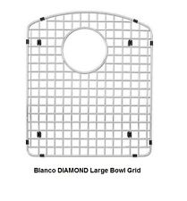 BLANCO 220998 Stainless Steel Sink Grid for BLANCO DIAMOND 1-3/4 Large Left Bowl
