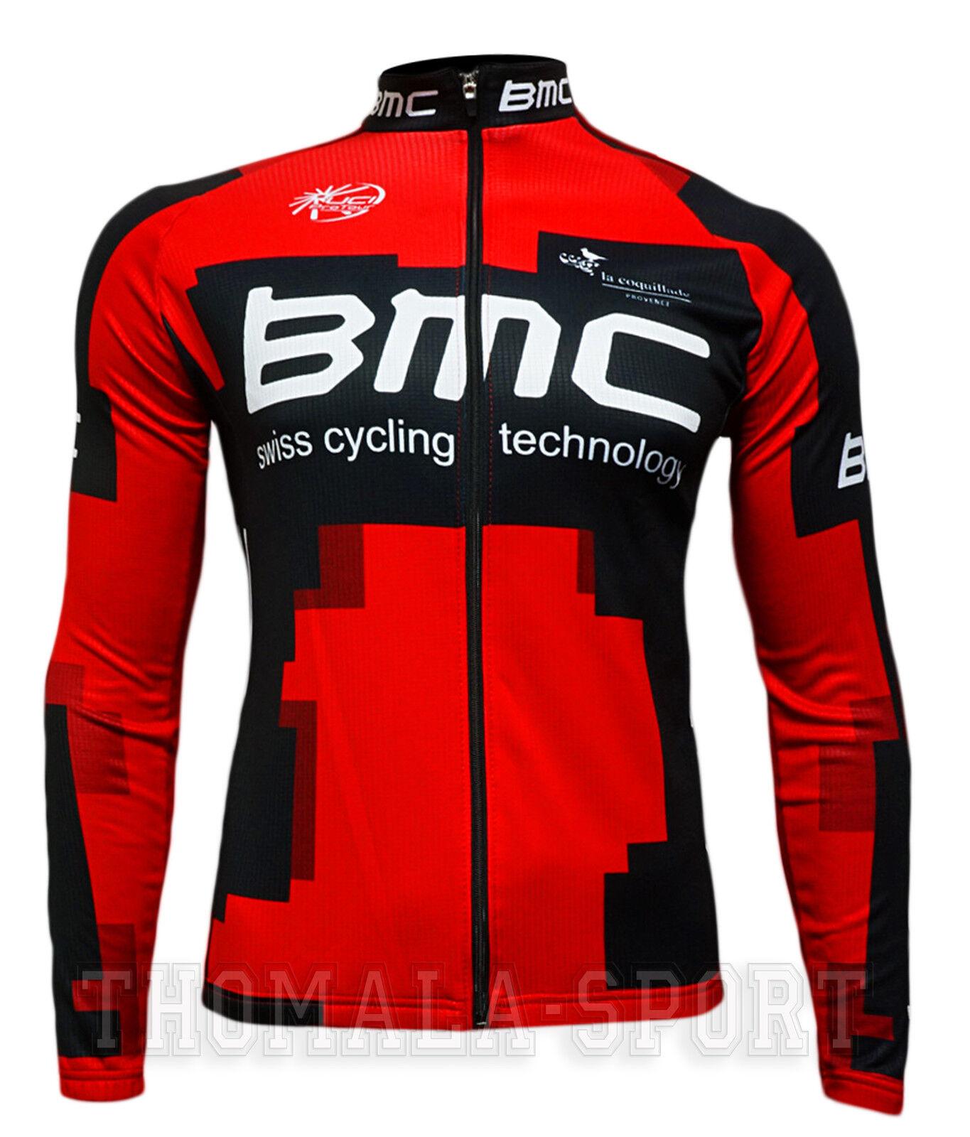 BMC squadra-Maglia uomoica lunga-TG. S, M, L, XL, XXL, XXXL-Nuovo -  --    --    --