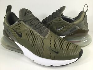 purchase cheap 8f009 65cb9 Image is loading Nike-Air-Max-270-Medium-Olive-Black-White-