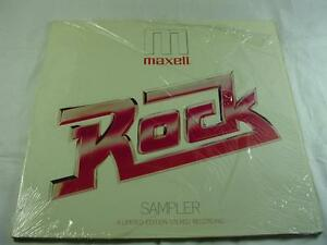 Maxell-Records-Rock-Sampler-Excellent-Condition