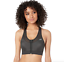 thumbnail 1 - Brooks Black Fast Forward Zip Sports Bra Women's Size M 73324