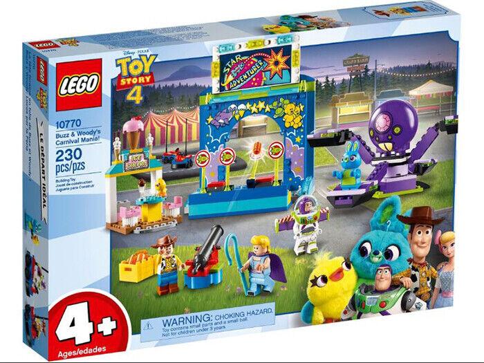 Lego 10770 TOY  STORY Buzz & boisy's voiturenival Mania (neuf scellé)  meilleure qualité meilleur prix