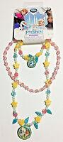 Frozen Elsa Anna Olaf Children 2 Necklace And Bracelet Set Limited Exclusive