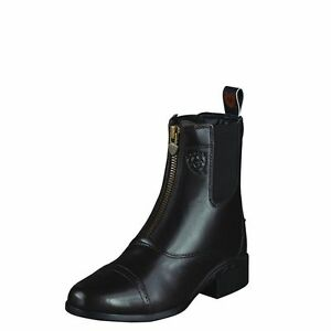 Ariat Ladies Heritage Iii Zip Paddock Boot In Black C