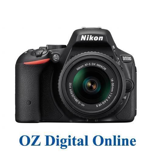 NEW Nikon D5500 18-55 VR II Kit 32GB 24.2 MP Full HD DSLR Camera 1 Year Aust Wty