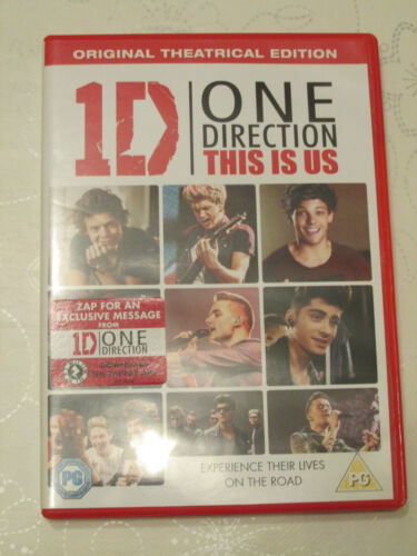 1 of 1 - One Direction DVD - This is Us
