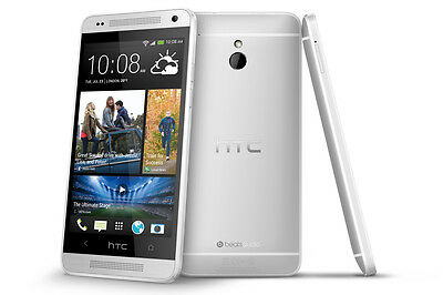 HTC One M7 - 32GB - PN07120 - Silver (Unlocked) Smartphone (B)