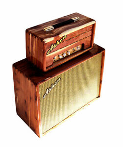 "Ashen "" Marvin"" 5W Handmade Tube Guitar Amplifier + 112 Slant Guitar Cabinet Set"