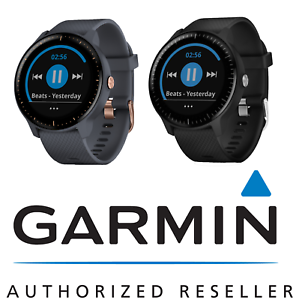f6dc30a9e0a Garmin vívoactive 3 Music - GPS Fitness Smartwatch w/ Music Storage ...