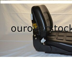 NEW-UNIVERSAL-VINYL-FORKLIFT-SUSPENSION-SEAT-FITS-CLARK-CAT-HYSTER-YALE-TOYOTA