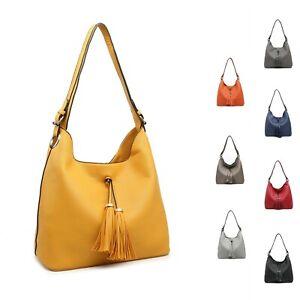 Lady Boutique Super Neat Synthetic Leather Medium Hobo Commuting Shoulder bag UK