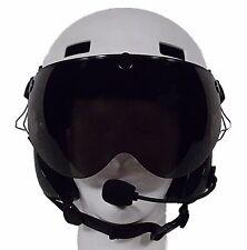Paramotor powered paragliding Helmet SENA Bluetooth communication Equiped + PPG