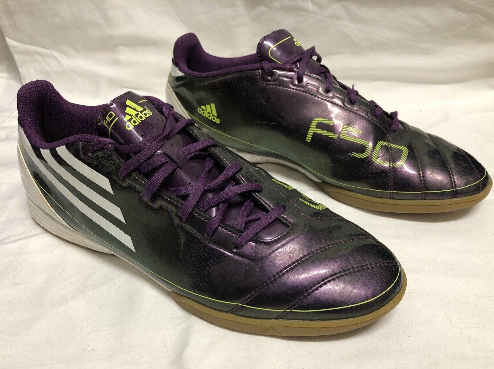 Adidas Adizero F50 Futsal Fútbol Fútbol botas De Interior EE. UU. 11 1 2
