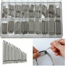 360pcs Watch Band Spring Bars Strap Link Pins 8-25mm Repair Kit Stainless Steel